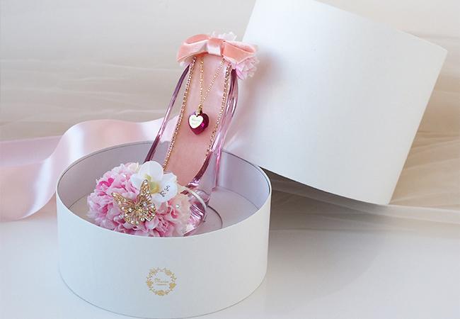 ガラスの靴 桜ピンク専用ボックス
