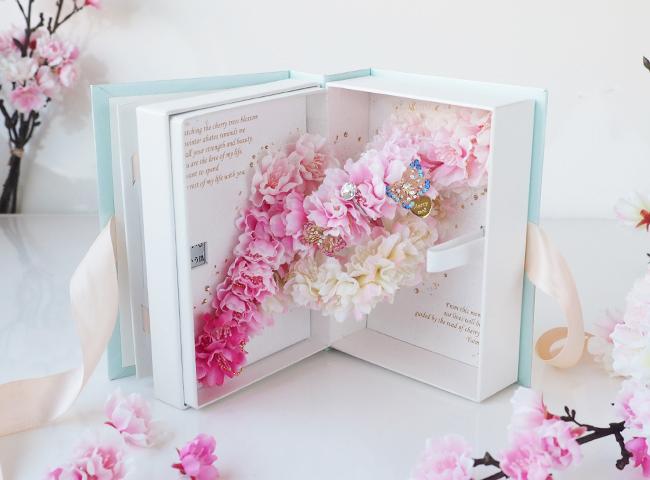 春限定商品「ラブブック桜」