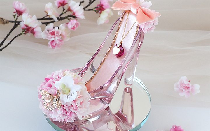 春限定桜のガラスの靴
