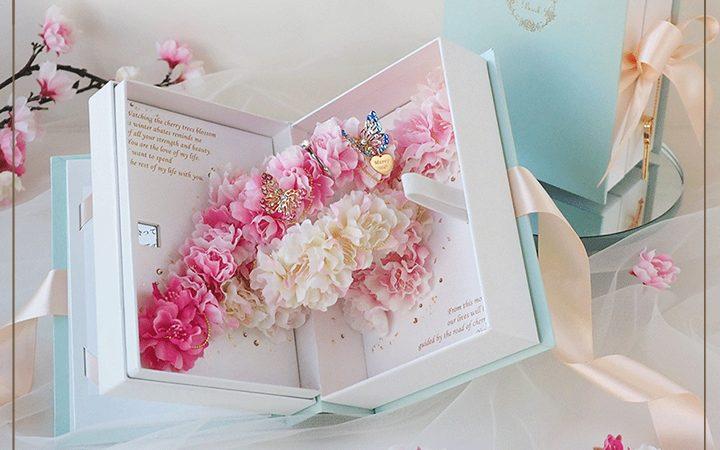 春限定 桜のフラワーギフト