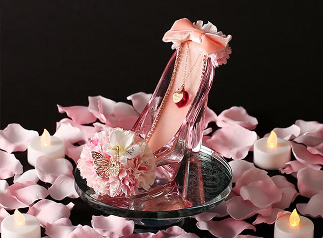 シンデレラのガラスの靴・桜ピンク<春限定>
