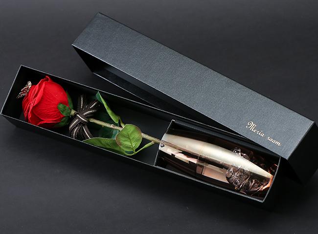 1本の赤いバラ