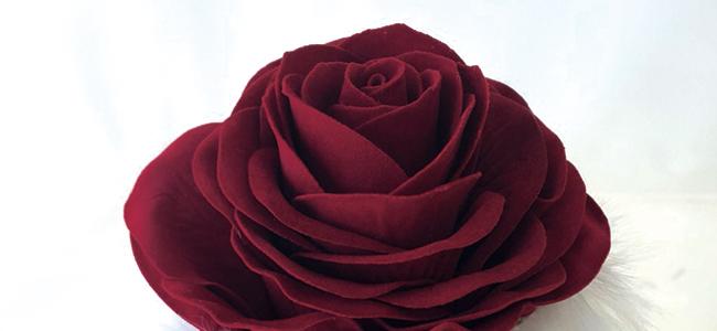 秋だけに見られる黒いバラ?