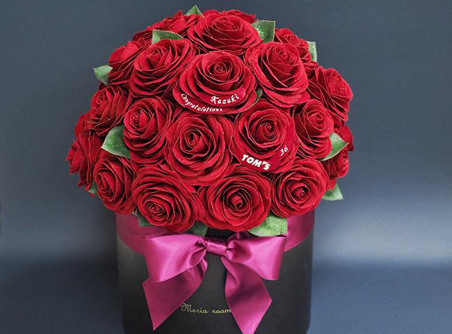 カスタマイズフラワー(36輪のバラ)