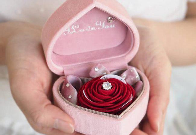 家プロポーズに人気の箱パカプロポーズボックス