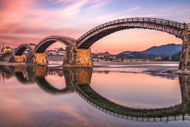 山口県の金帯橋