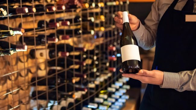 プロポーズに年号ワイン